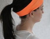 Orange Sparkle / Sport Headband