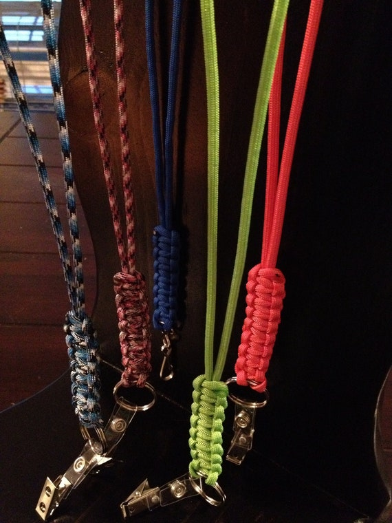 550 Paracord Strong Quality Lanyard Variety of colors available