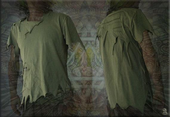 Pirate Tee Vagabond tshirt with zipper pocket
