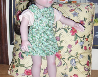 Crochet 18 inch Dolls Clothes Jumper and Hat Set in 100% Degas Cotton Free Shipping 48 contiguous States