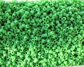 DB-754, Miyuki Delica Beads, Size 11/0, Opaque Matte Green - 5 grams or, choose a Larger Pkg from the 'Select an Option' menu