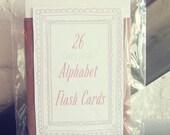 Very Girly Alphabet Flash Cards