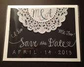 Wedding Save the Date - Set of 25