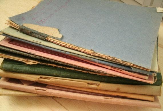 greek composition books, school books lot of 14