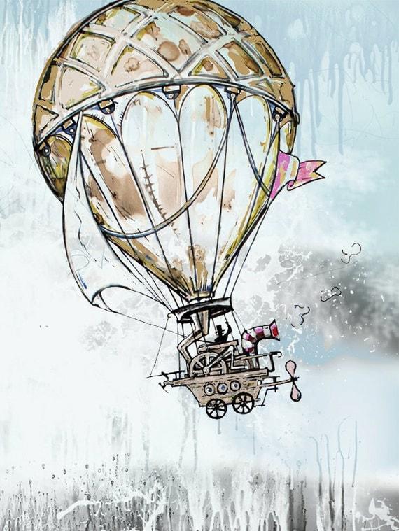Balloons on Pinterest | Hot Air Balloon, Vintage ...