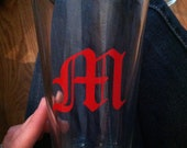 Monogram Pint Glass (Made to Order)