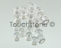 11/0 Delica Seed Beads Crystal Luster 7.2 Gram Tube DB50 #45-113050
