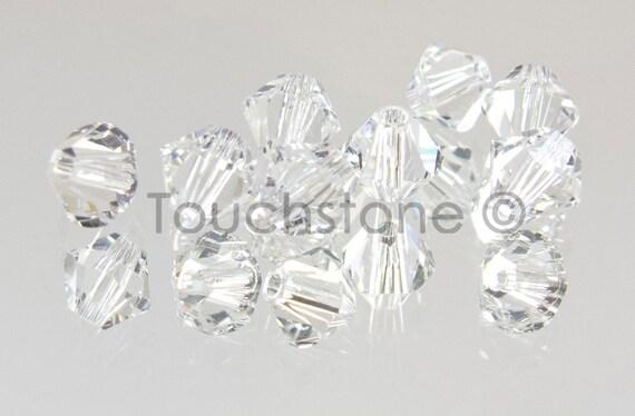 4mm Crystal Swarovski Crystal Bicone Beads #45-1115