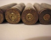 Alternate / Steampunk Art Supply - Mauser 8mm Brass Empty Spent Bullet Casings - Lot of 5 pcs.