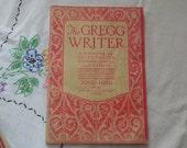 The Gregg Writer Vintage Magazine for Office Secretaries Great Ads June 1930 Ephemera Pen Pencil Typewriter Advertising Publication