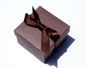 Reserved for Casandra - 110 Lidded Favor Boxes with ribbon