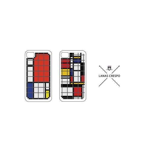 Patrones para iPhone de Mondrian 2 Patrones en por LanasCrespo