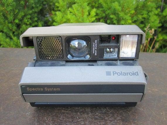 Vintage Polaroid Camera Spectra System