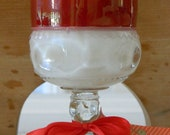 Apple Blossom Soy Candle in Vintage Glass
