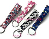 Two Custom Duct Tape Key Fobs - 100% donation