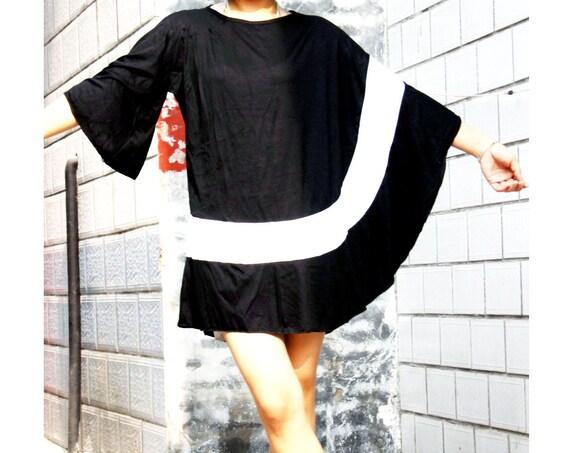 cotton knit shirt---- lace patchwork t-shirt bat shirt loose sweater