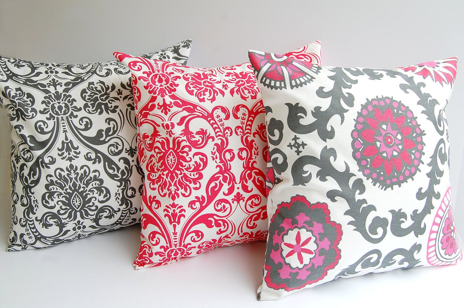Etsy Throw Pillow Sets : Throw pillow covers set of three 18 x 18 by ThePillowPeople