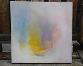 12x12 original abstract oil painting