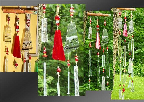 Lakshmi's Secret Feng Shui Glass & Crystal Wind Chime