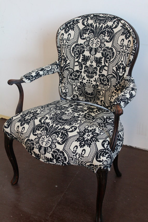 French Provincial Antique Upholstered Chair