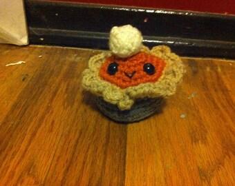 Crocheted Pumpkin Pie