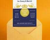 Corona Stock the Bar- Wedding Shower Invitation