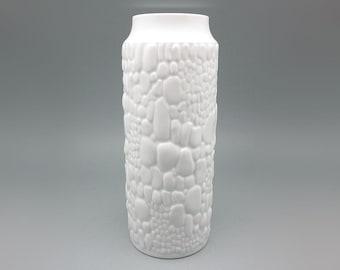 Vintage porcelain Op Art Vase by Alka Kaiser-Porzellan (1970s)