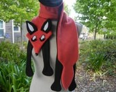 Fox Scarf Whimsical