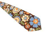 Flower Power Vintage 1960s Tie. The Hippie Necktie - Strange, But True.