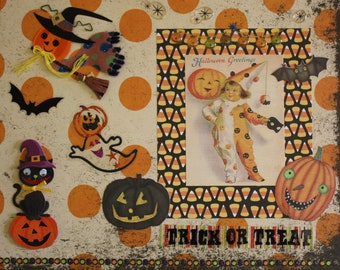 Halloween Decor: Collage Art (Trick or Treat)