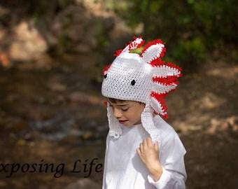 Axolotl Hat