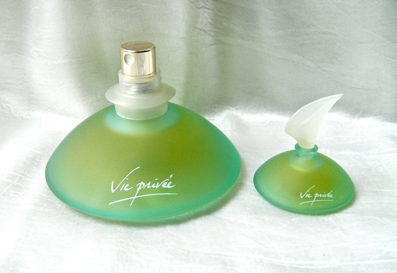 2 vie privee by yves rocher perfume eau de toilette green
