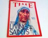 Time Magazine, Mother Teresa, December 29,1975