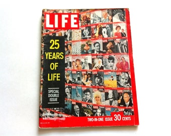 Vintage Life Magazine - 25 Year Anniversary Edition - Special Edition