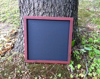 Chalkboard  - Rustic Wedding Decoration - Chalk Board Set - Cottage Chic Decor - Your Choice of Color