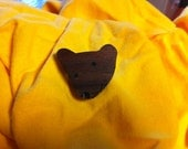 Happy Bear Brooch - RESERVED for merritty
