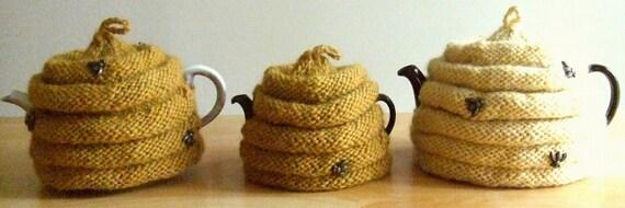 Knitting Pattern-Spouted Beehive Tea Cozy, knit tea cozy ...