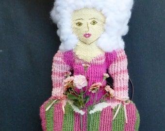 Jeanette, Handwoven Doll