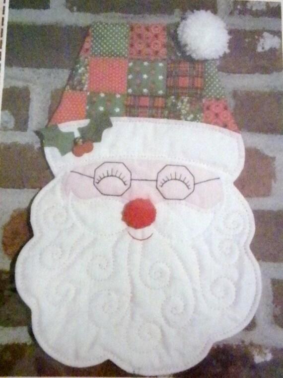 Patch Press Uncut ,16 Inch Tall, Santa Pattern
