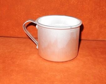 Vintage Soviet  mug, cup  iron