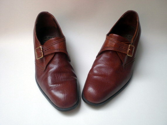 Vintage Mens Dress Shoes Retro Hipster Loafers By