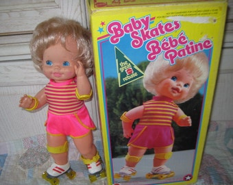 1978 Baby Skates Mattel In Original Box /Great Gift Idea for Little Or Big Girl / :)