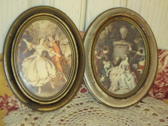 Set of 2 Victorian Pictures