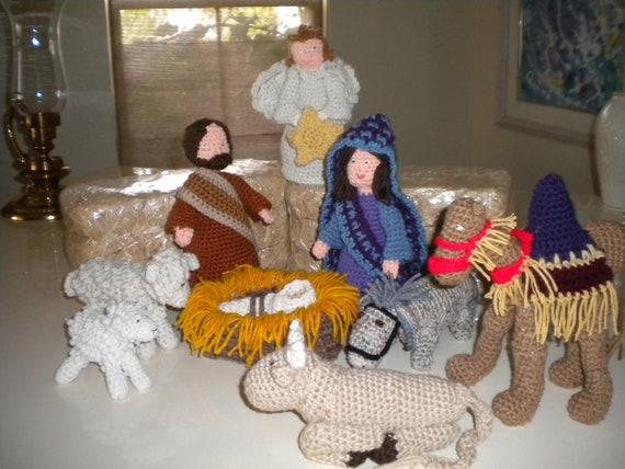 Free Crochet Patterns Nativity Set ~ Pakbit for .