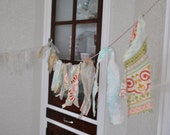 Rag Bow Garland