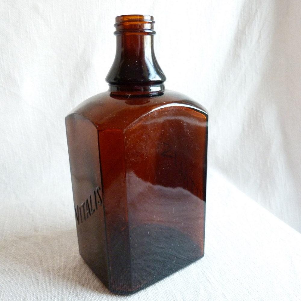 vitalis hair tonic vintage vintage amber vitalis bottle