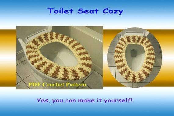 Crochet Pattern - Toilet Seat Cozy (34VC2012)