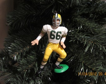 Ray Nitschke Green Bay packers custom football sports ornament many to choose from
