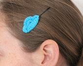 Cloud hair clips (crochet) - Ready to ship