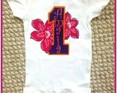 Luau Hula Girl Personalized Shirt ONLY or Onesie